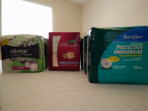NEW - Always/Depends  Adult diapers