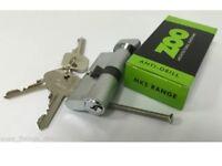 10 euro cylinder thumb turn 70mm 35mm/35mm Fire door lock anti drill c/w 3 keyst