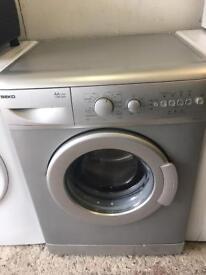 Beko Silver Washing Machine Fully Working Order Good Clean Condition £75 Sittingbourne