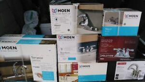 Robinets Moen pour Évier cuisine/salle de bain Neufs dans boite