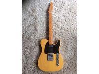 Fender Telecaster USA '52 reissue, 1999, butterscotch, OHSC