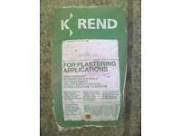 K-REND plaster - 2 x 25 kg bags - free to good home