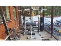Full Gym Set With Smith Machine