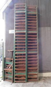 Roller Conveyor with Rubber Belt and Drive Unit