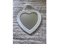 Hanging Heart mirror