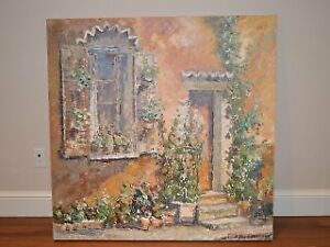 Marjolyn van der Hart - Large Original Oil Painting
