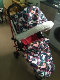 Cosatto yo 2 unicorn stroller