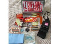 First aid kit for electric guitars.... Unused.. only opened for pics