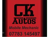 CK Autos. Mobile vehicle technician/ mechanic