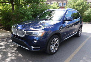 2015 BMW X3 xDrive28i GR  PREMIUM, TECHNO, CONNECTEDr FULL-FULL