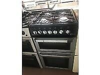 SILVER/BLACK FLAVEL 50CM GAS COOKER BIRMINGHAM