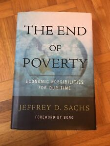 The End of Poverty: Jeffrey D. Sachs (hard cover)