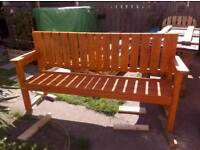 Garden patio benches