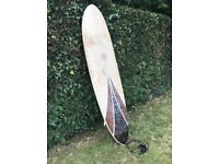 NINE PLUS 7 MAGIC CARPET MINIMAL SURFBOARD