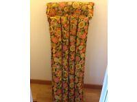 Retro vintage beach li-lo lilo fabric inflatable original 1970's