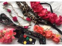 Selection of Festival/Holiday Hair Bands and Clips 🌺