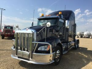2012 KENWORTH T660,STUDIO SLEEPER CHOICE OF 2
