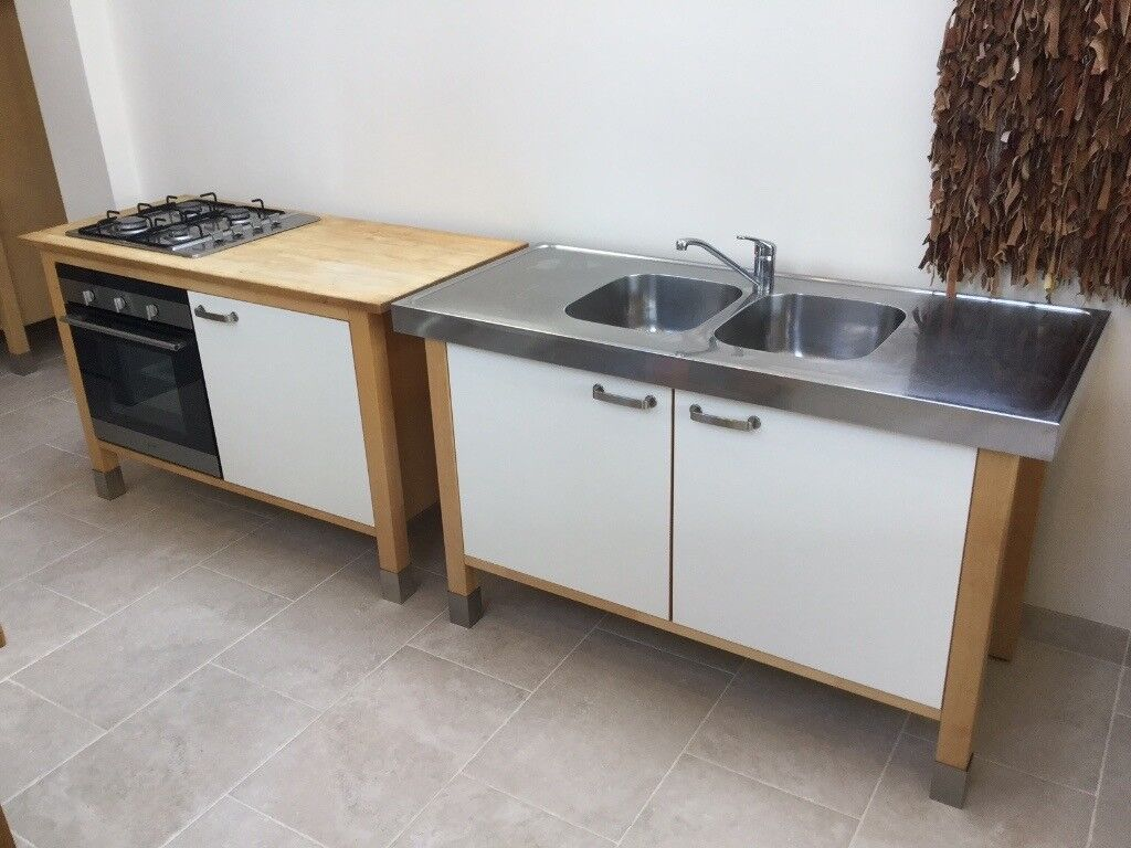 Ikea Varde Free Standing Kitchen Units In Brighton East Sussex  # Meuble Ikea Varde
