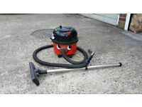Henry Hoover vacuum cleaner with NEW MOTOR and all extension pieces