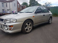 Impreza turbo 1999 uk car quick car