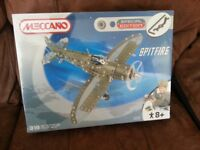Meccano spitfire special edition seald box