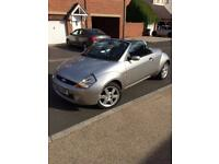 Ford Streetka silver convertible 1.6 2004