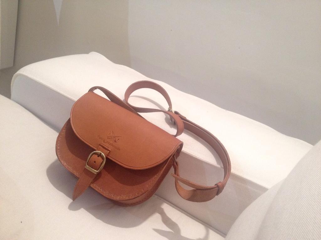 Real leather shoulder bag   Handmade in Florence