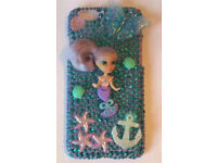 Customised iPhone 6/6s mermaid doll case