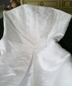 Davids Bridal Wedding Dress -  $300 OBO