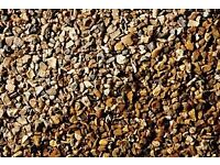 Free Gold Garden Gravel - for collection only