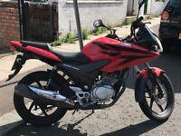 Red Honda CBF 125 Brilliant Reliable Motorbike