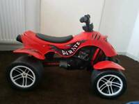 Child's pirate quad bike