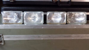 4 BOSCH H3 and H4 headlights