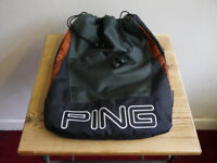 PING MIZUNO BOS GOLF KIT & SHOE BAGS - FROM £10 - CASH ON COLLECTION ONLY