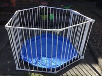 Mothercare playpen and fire guard
