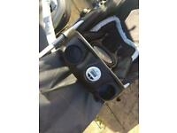 Mothercare travel system used
