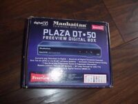 Manhattan Plaza dt-50 freeview digital box