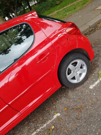 Peugeot 207 1.4 Sports 5 Doors Red - Very Low Milage and well taken care off