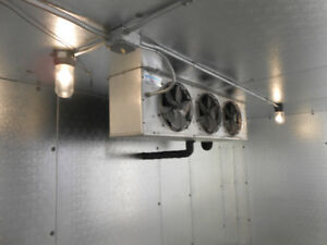 Walk in cooler repair , Supply and installation