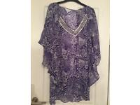 Debenhams size 14 beach cover up (can post)