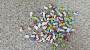 Squinkies - Approximately 150 pcs. (not all shown in picture)