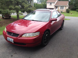 1998 Honda Accord Ex Coupe (2 door)