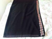 Black abaya hijaabs