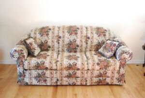 Complete living room set (sofa, love seat and chair)
