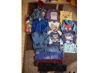 Big bundle of boys clothes 3-4 years, 24 items incl Next, Nutmeg, Indigo