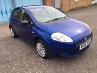 2006 Fiat GRANDE PUNTO 1.2 , mot - July 2018, only 63,000 miles , 2 owners ,corsa,fiesta,clio,207