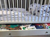 M&S baby Cot and mattress RRP £450