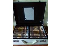 James Bond briefcase with 20 dvds