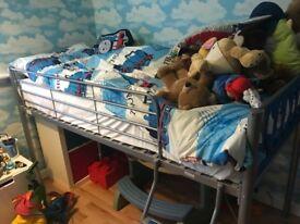 Single bed high sleeper