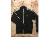 Fred Perry Kids - Sports Authentic Taped Track Jacket